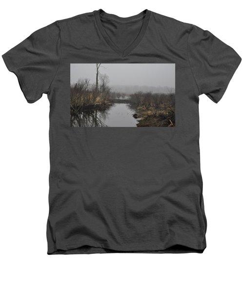 Beaver Dam Men's V-Neck T-Shirt