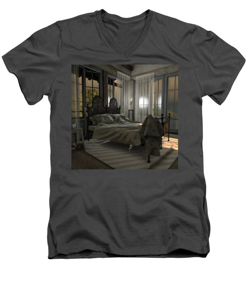 Bedroom Men's V-Neck T-Shirt