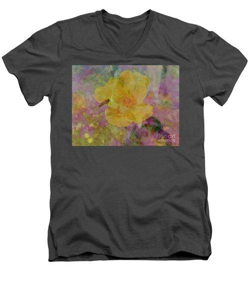 Bee Good Or Bee Careful Men's V-Neck T-Shirt