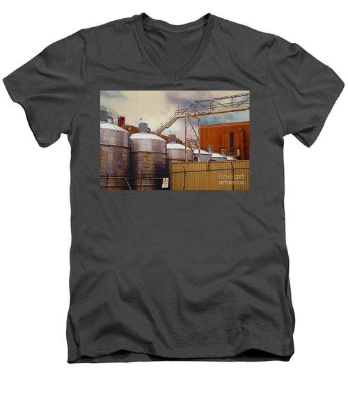 Beer Men's V-Neck T-Shirt
