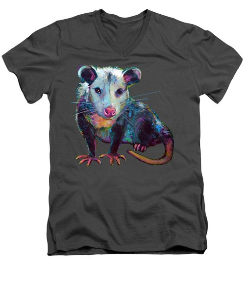 Beethove, The Opossum  Men's V-Neck T-Shirt