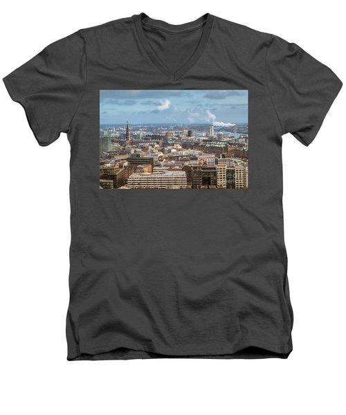 Befor A Snow Storm Hamburg Men's V-Neck T-Shirt