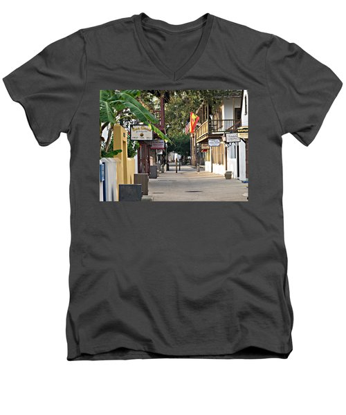 Before The Tourists 1 Men's V-Neck T-Shirt