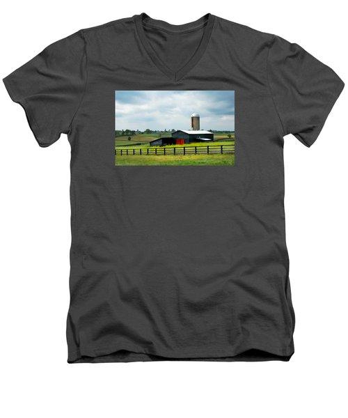 Before Therain Men's V-Neck T-Shirt