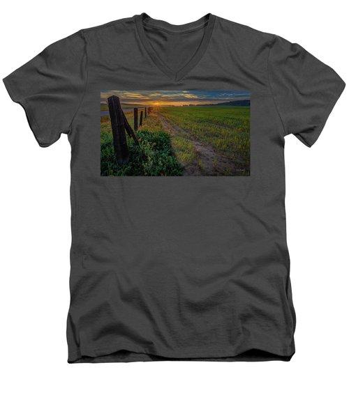 Beginning Men's V-Neck T-Shirt