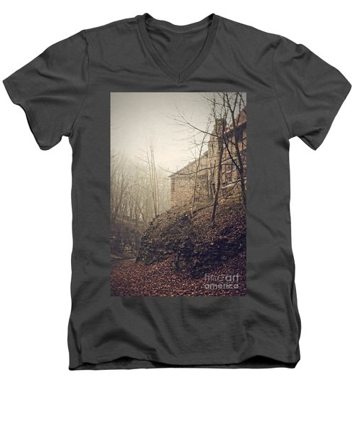Behind Ancient Walls Men's V-Neck T-Shirt