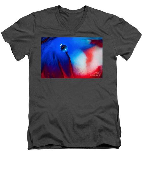 Behind Blue Eye Men's V-Neck T-Shirt