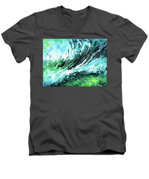 Behind The Curtain Men's V-Neck T-Shirt