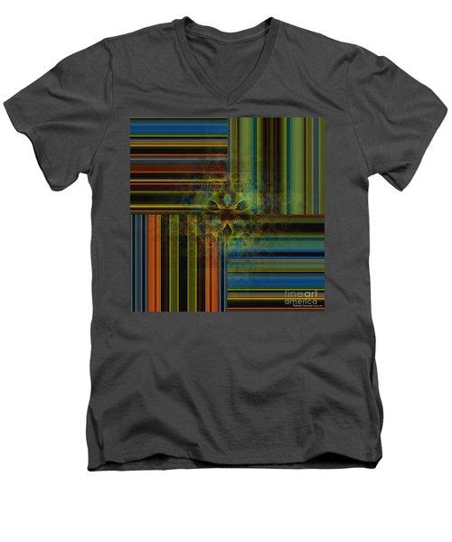 Behind The Drapes 2 Men's V-Neck T-Shirt by Thibault Toussaint