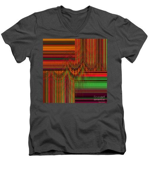 Behind The Drapes Men's V-Neck T-Shirt by Thibault Toussaint