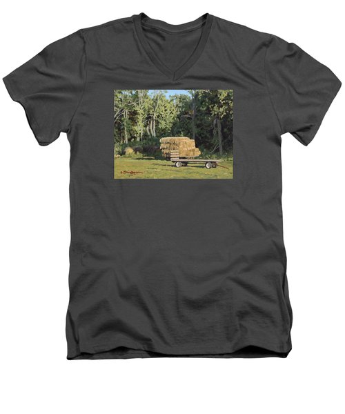 Behind The Grove Men's V-Neck T-Shirt