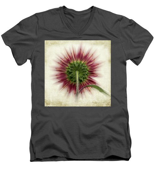Behind The Sunflower Men's V-Neck T-Shirt