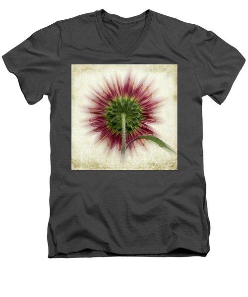 Behind The Sunflower Men's V-Neck T-Shirt