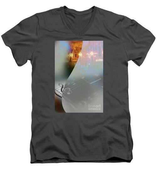 Behind The Vail Men's V-Neck T-Shirt