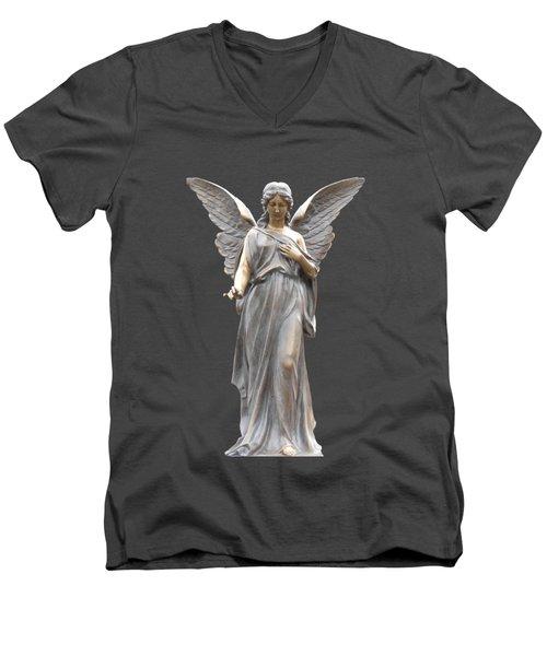 Behold I Send An Angel Before Thee I I Men's V-Neck T-Shirt