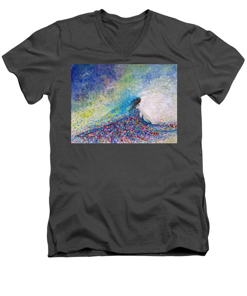 Being A Woman - #5 In A Daydream Men's V-Neck T-Shirt