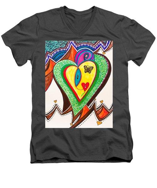 Being Alive - Iv Men's V-Neck T-Shirt