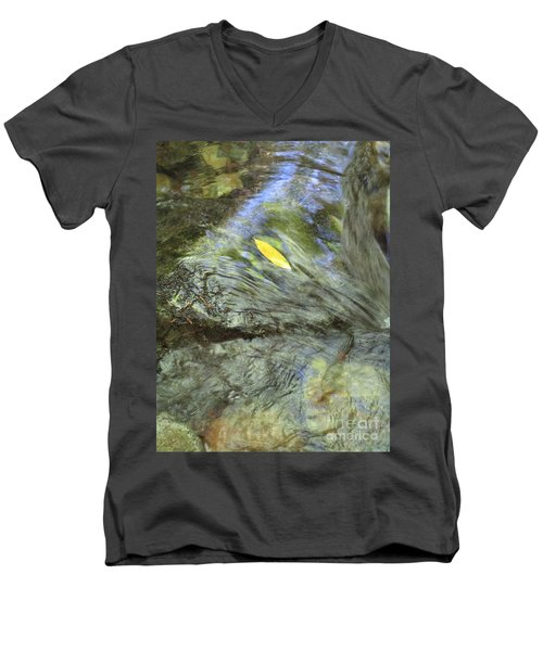 Men's V-Neck T-Shirt featuring the photograph Being Still by Marie Neder