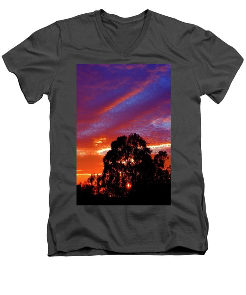 Being There Men's V-Neck T-Shirt