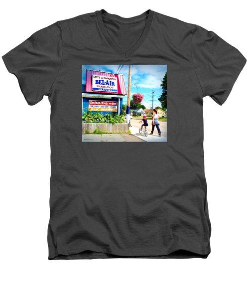 Bel Air  Men's V-Neck T-Shirt