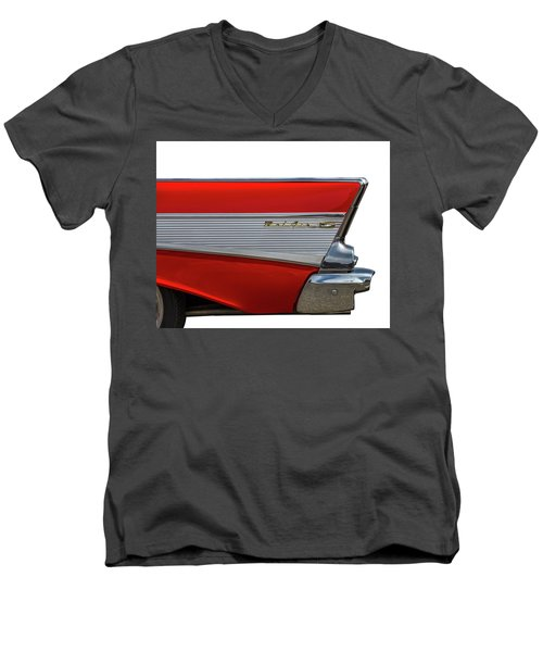 Men's V-Neck T-Shirt featuring the photograph Bel Air by Peter Tellone
