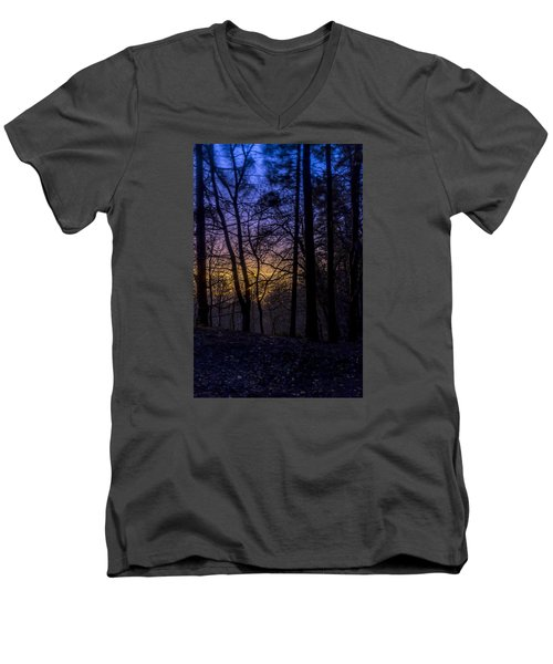 Belfast Through The Trees Part 1 Men's V-Neck T-Shirt
