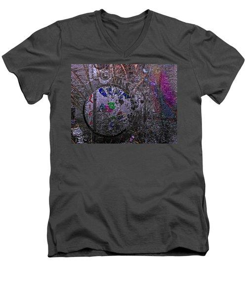 Believe In Art Men's V-Neck T-Shirt