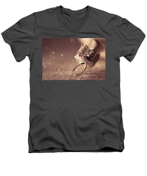 Believe In The Magic Men's V-Neck T-Shirt