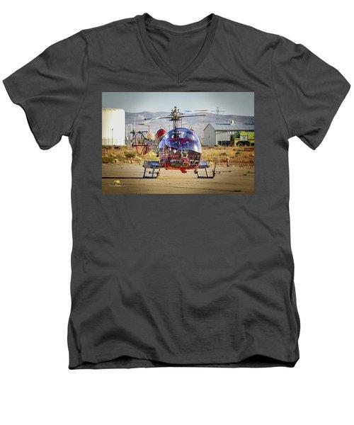 Bell 47 Men's V-Neck T-Shirt