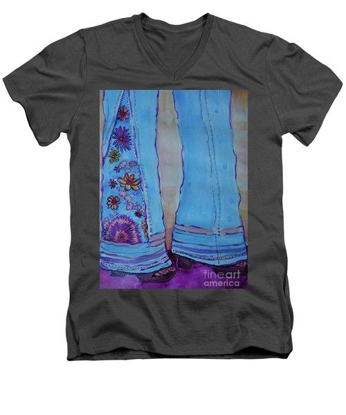 Bell Bottoms Men's V-Neck T-Shirt