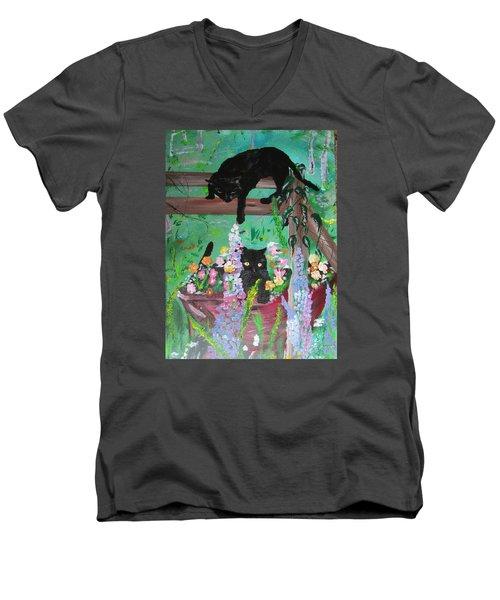 Bella And Rufus Men's V-Neck T-Shirt