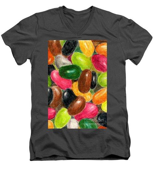 Belly Jelly Men's V-Neck T-Shirt