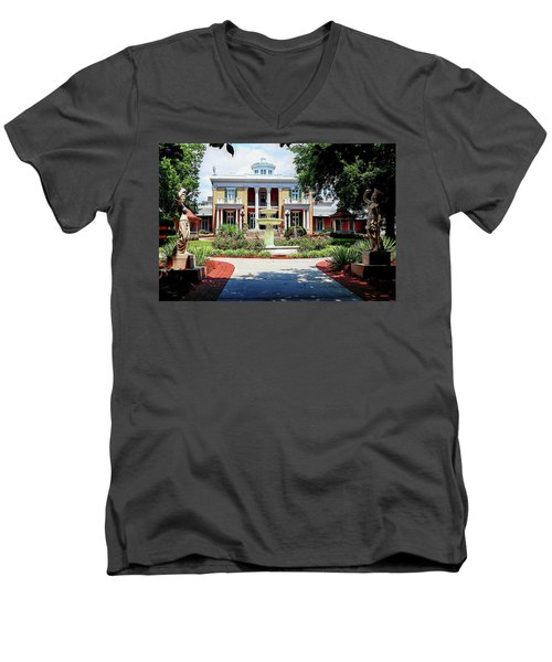 Belmont Mansion Men's V-Neck T-Shirt