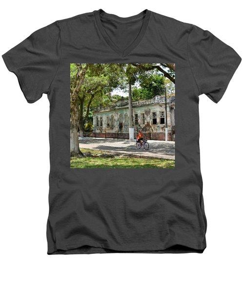 Belmonte - #bahia - #brasil #ig_brazil Men's V-Neck T-Shirt