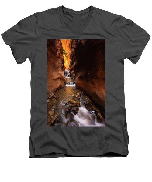 Beloved Men's V-Neck T-Shirt by Dustin LeFevre