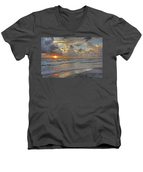 Beloved - Florida Sunset Men's V-Neck T-Shirt