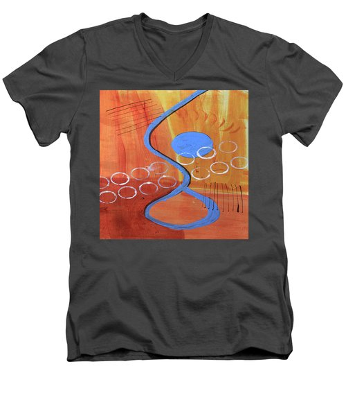 Below The Line Men's V-Neck T-Shirt