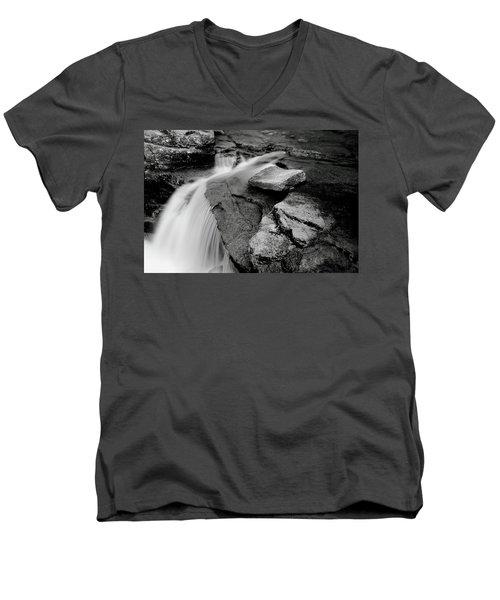 Bemis Brook Falls Men's V-Neck T-Shirt