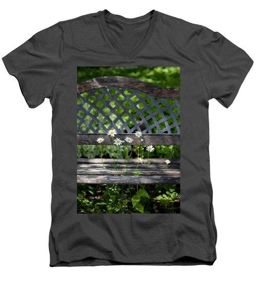 Benched Men's V-Neck T-Shirt