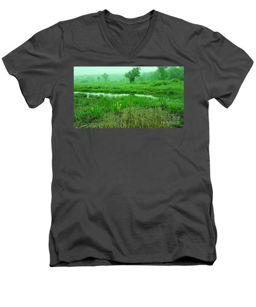 Beneath The Clouds Men's V-Neck T-Shirt