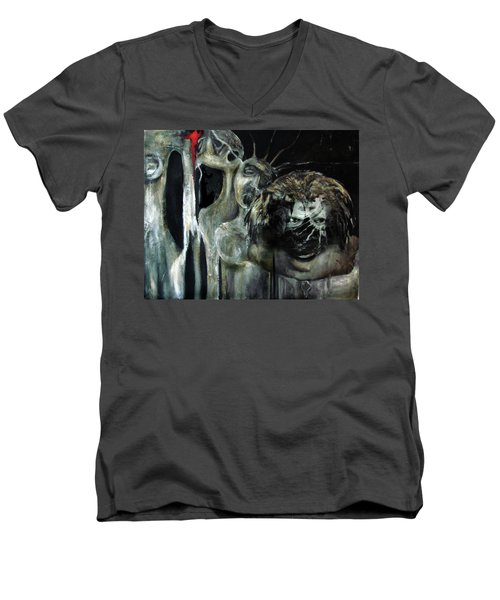 Beneath The Mask Men's V-Neck T-Shirt