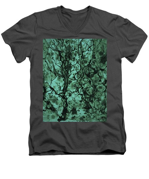 Beneath The Surface Men's V-Neck T-Shirt by David Gordon