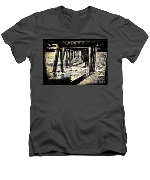 Beneath Men's V-Neck T-Shirt