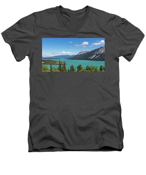 Tagish Lake Men's V-Neck T-Shirt