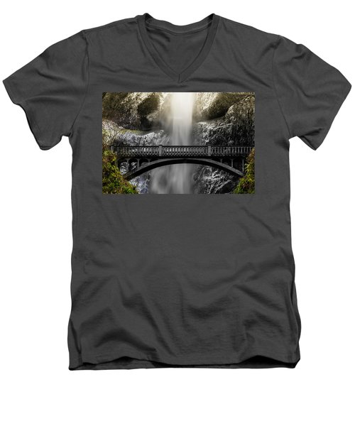 Benson Bridge Men's V-Neck T-Shirt