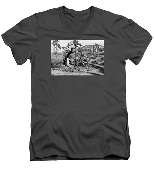 Bent Joshua  Men's V-Neck T-Shirt