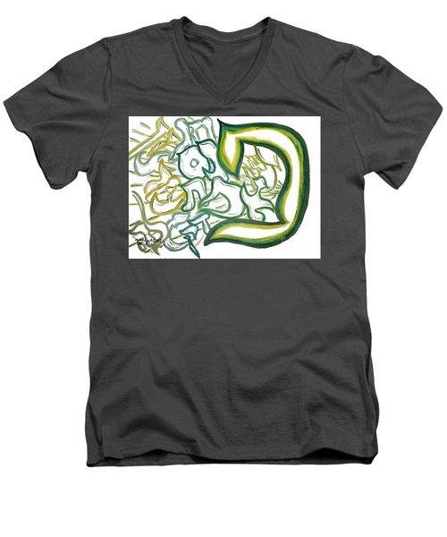 Bereshit In The Pey Men's V-Neck T-Shirt