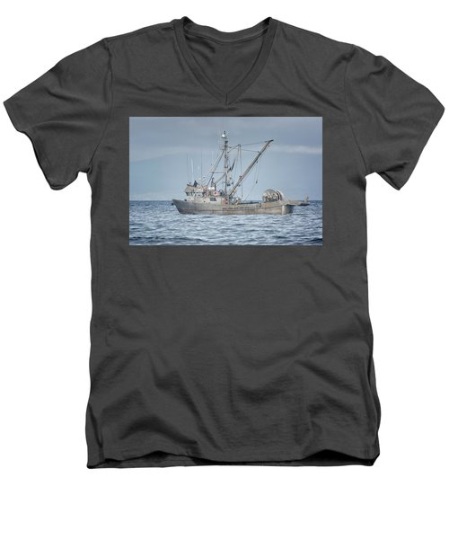 Men's V-Neck T-Shirt featuring the photograph Bernice C by Randy Hall