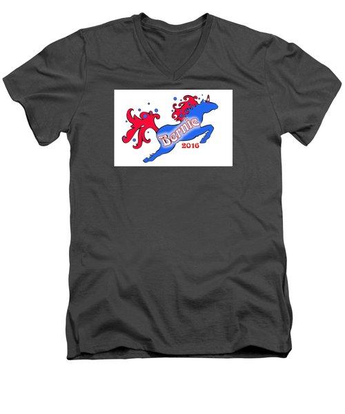 Bernie's Unicorn Option 3 Men's V-Neck T-Shirt