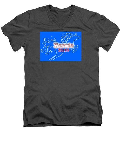 Bernie's Unicorn Option 5 Men's V-Neck T-Shirt
